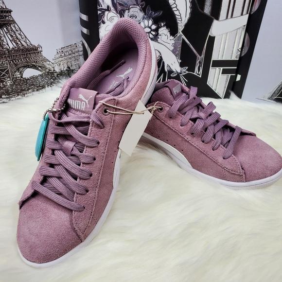 Puma Shoes | New Vikky Suede Elderberry